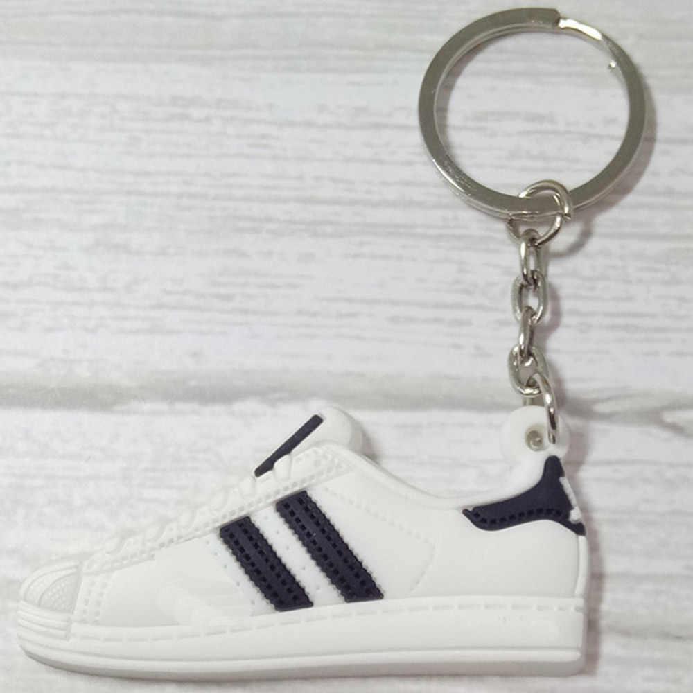 Mini Silicone Chaveiro llaveros Chaveiro Charme Saco anel Chave Titular porte sapato maravilha clave llavero chaveiro