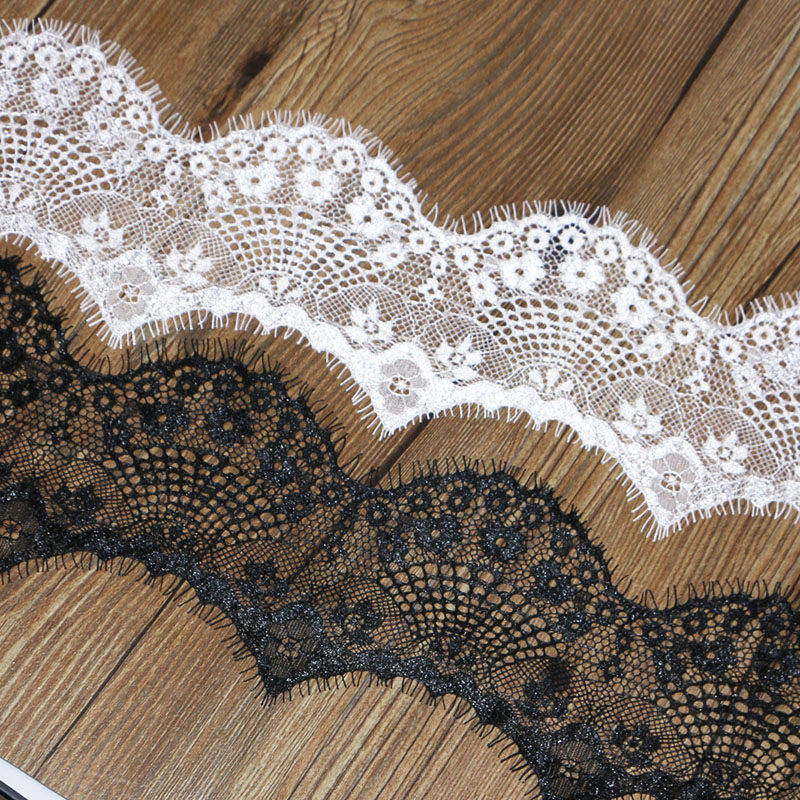 Black Guipure Lace Motif Applique,Wedding,Trimmings  16cm x 7cm