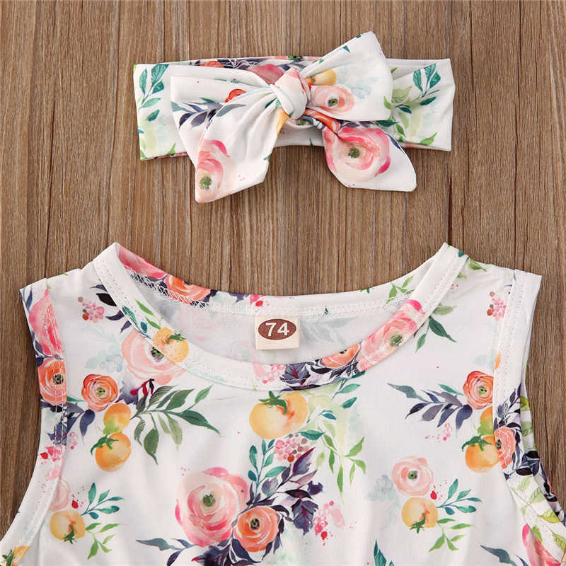 Milkiwai Newborn Baby Girl Boy Sleveeless Pineapple Print Vest Tops Outfits Clothes