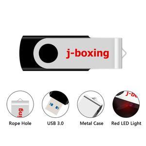 Image 4 - J الملاكمة 16GB USB 3.0 فلاش فلاش قرص ذاكرة عصا معدنية قابلة للطي القلم محرك 32GB 64GB فلاشة مزودة بفتحة يو إس بي يو القرص للكمبيوتر ماك اللوحي الأسود