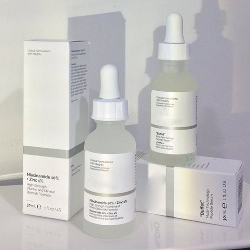 The Ordinary Caffeine Solution 5% + EGCG Concentrated Alpha Arbutin 2% +HA  AHA 30%+ BHA 2% Salicylic Acid 2% Remove Acne Scars