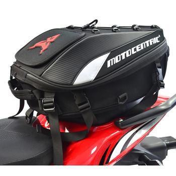High Qualtity  New Waterproof Motorcycle Tail Bag Multifunction Motorcycle Rear Seat Bag High Capacity Motorcycle Rider Backpack