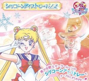 Image 2 - Anime Action Figure marin lune baguette magique bâton forme chocolat crème glacée gâteau cuisson Cube four plateau Silicone moule pour bonbons