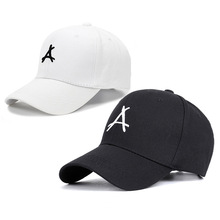 2019 Hot Sale Dad Hat  Spring And Summer In Europe America Letters A Curved Eaves Hip-hop Cap For Leisure Baseball