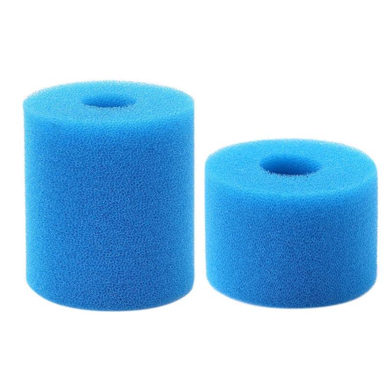 Practical Biochemical Cotton Sponge Aquarium Filter Reusable Washable Bubble Sponge Cleaning Foam Swimming Pool Filter Foam
