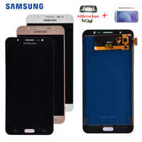 J710 lcd Für Samsung Galaxy J7 2016 J710 SM-J710F J710M J710H J710FN LCD Display Touchscreen Digitizer Montage