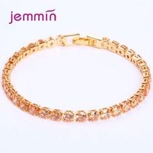 цена на Top Vendor Korean Trend Women 925 Sterling Silver Gemotric Cubic Zirconia Bracelets Concise Brand Armbanden Voor Vrouwen Jewelry