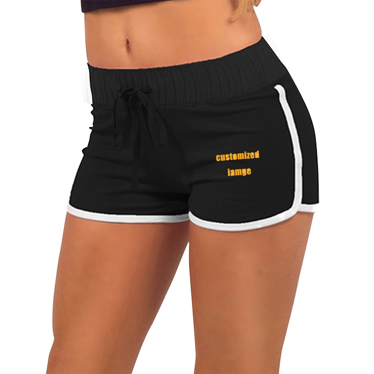 NOISYDESIGNS 3D Printed Custom Women Pants 2020 Summer Personalized Casual Short Pants Sport Gym Pants Customized Logo