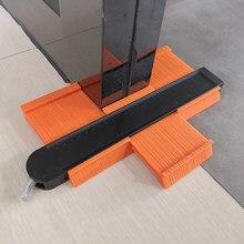 Jauge de copie de profil en plastique ABS, modèle duplicateur de Contour, règles de marquage du bois, pièces légères, sondage
