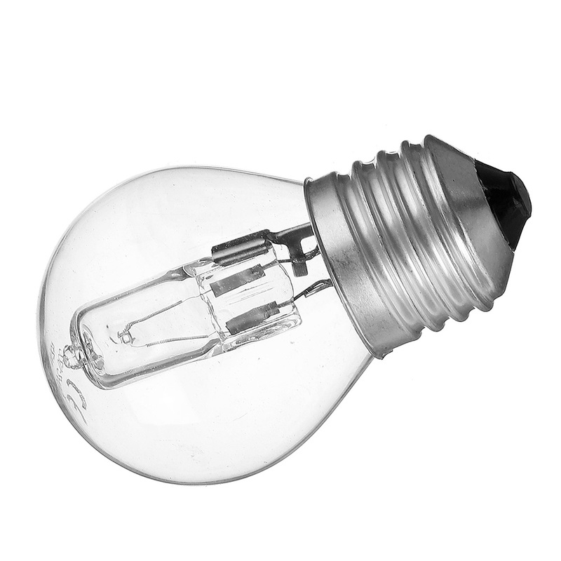 42W  E27 G45 Oven Light Bulb AC110-250V High Temperature 300 Microwave Glass Lamp Bulb Warm White 630LM