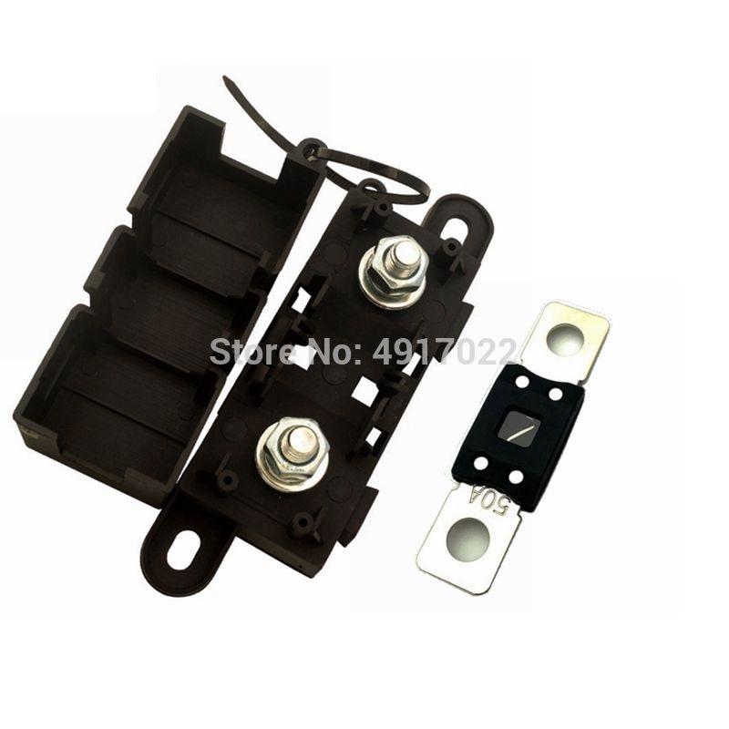 1PCS ANM-H3 MEGA Auto Fuse Holder /blade Fuse Holder / ANM Bolt-on fuse holder (Fuse Not-Included) Flat Type Fuse Holder Hot New