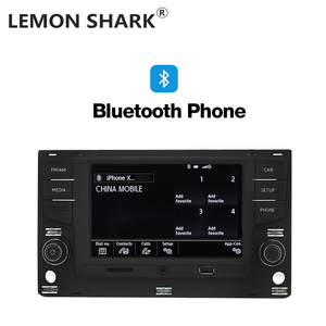 """Image 5 - Limon köpekbalığı MQB 6.5 """"MIB araba radyo Mirrorlink OPS ters kamera için VW Passat B8 Golf 7 radyo MK7 yedi 5GG 035 280B"""