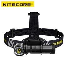NITECORE UT32 CREE XP L2 V6 LED 1100 lumens uitra קומפקטי קואקסיאלי הכפול פלט פנס