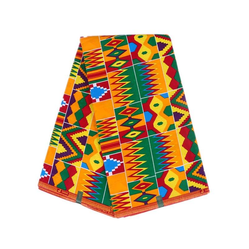 Latest Arrivals African Fabric Veritable 100% Cotton Colourful Wax Print Fabric Nigeria Veritable Ankara Real Dutch Wax