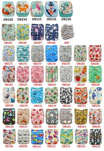 Ohbabyka Eco-friendly Diaper Cover Wrap Washable Diapers Couches Lavables Baby Nappy Reusable Nappy Baby Pocket Cloth Diapers