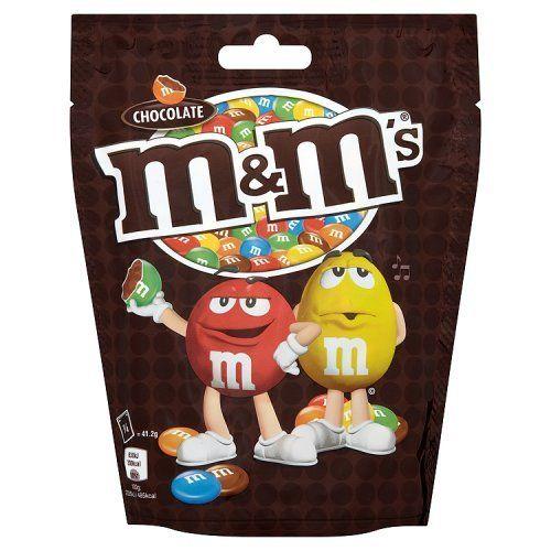 M & M De Chocolat Sachet De 165G