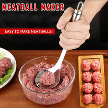 Poultry Lifters Meatball Maker Useful Pattie Meatball Spoon Meat Fish Ball Burger DIY Home Cooking Kitchen Creative Tool aug30