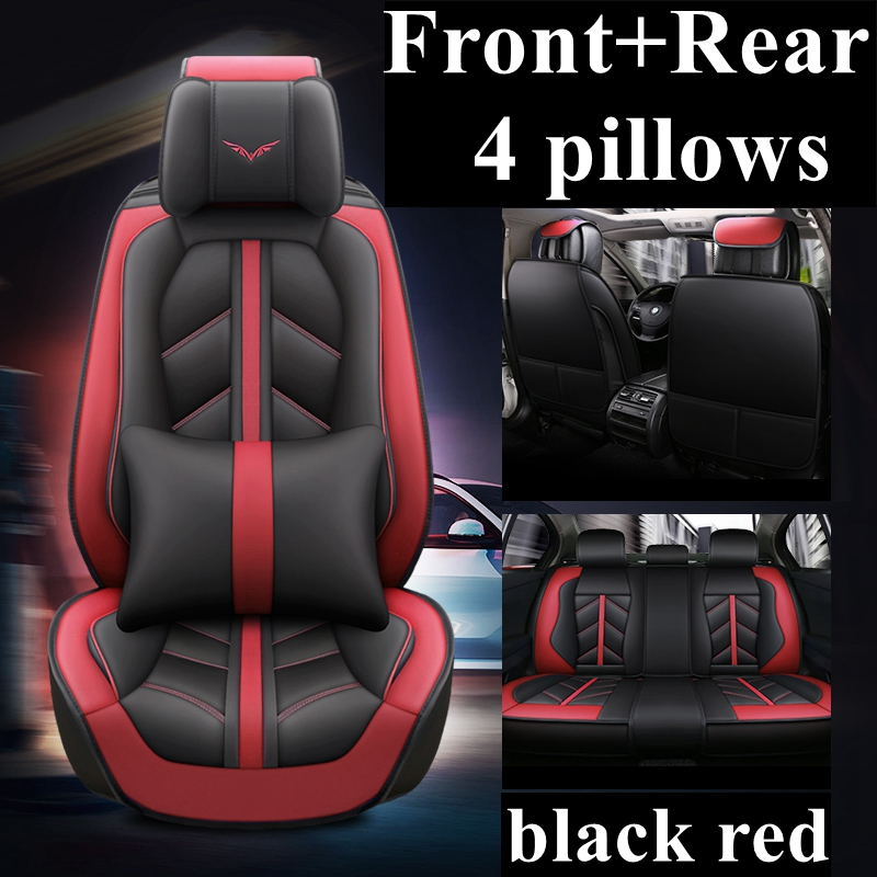 Front+Rear Car Seat Cover for ACURA CDX ILX LEGEND MDX RDX RL RLX TL TLX TSX ZDX Alfa Romeo 159 Giulia Stelvio Car accessories-in Automobiles Seat Covers from Automobiles & Motorcycles    1