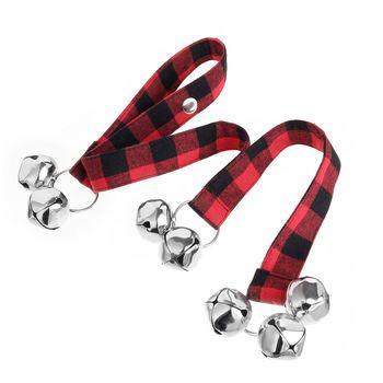 Dog Doorbells With Rope Premium Quality Training Great Dog Bells Adjustable Door Bell Pet Dog Training Supplies