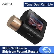 70mai traço cam lite 1080p módulos gps 70 mai lite gravador de câmera do carro 24h monitor de estacionamento 70mai lite carro dvr