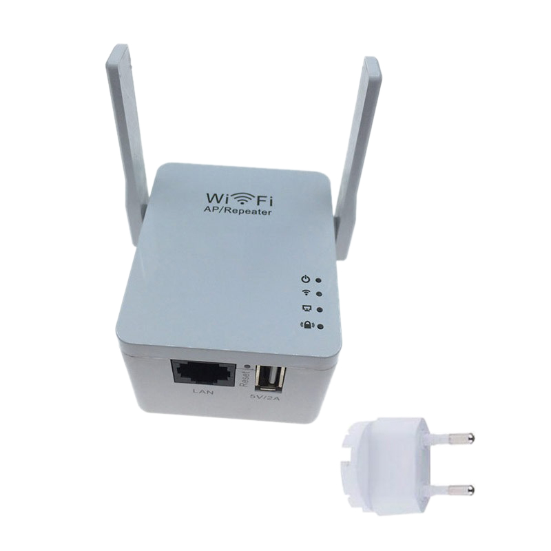 Wireless Wi-Fi 802.11N 300Mbps 2.4G Firewall Home Router Repeater Extender Repetidor Booster For Xiaomi Wi Fi Wifi Versterk EU P