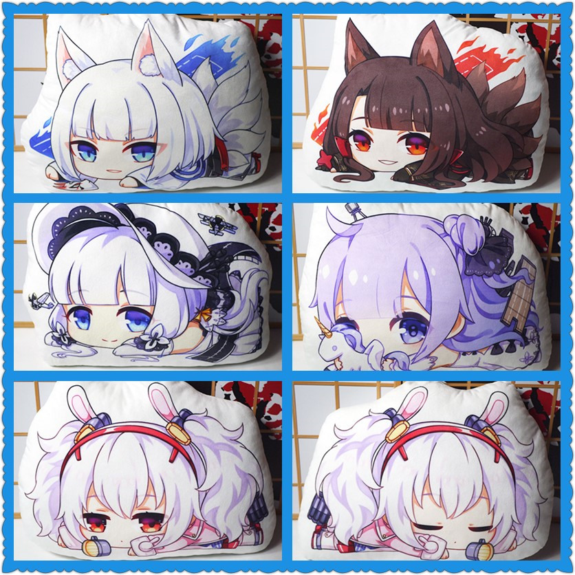 Anime Azur Lane HMS Unicorn Cosplay Plush Doll Pillow Fashion Toy Gift #04