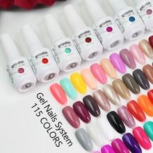 Clou Beaute Gel Polish lakiery hybrydowe esmaltes semipermanente uv led gel nail polish set colors gellak manicure nail glue