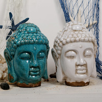 Buddhist Supplies Southeast Asian Style, Lifelike and Exquisite Buddha Statues, Glazed Ice Cracks, Old Crafts, Holiday Gifts