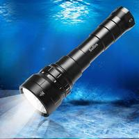 Sofirn Neue DF60 6 CREE XP-L2 6000lm Tauchen LED Taschenlampe Unterwasser Scuba Dive LED Licht Laterne IPX8 Wasserdichte Taschenlampen