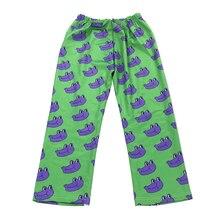 Повседневные свободные забавные с принтом лягушки с высокой талией эластичные женские брюки капри длинные осенние летние брюки для женщин