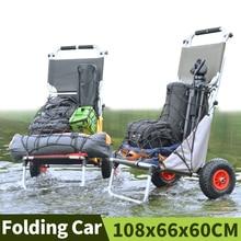 Home Garden Utility Wagon Wagon Cart Folding Cart Shopping T