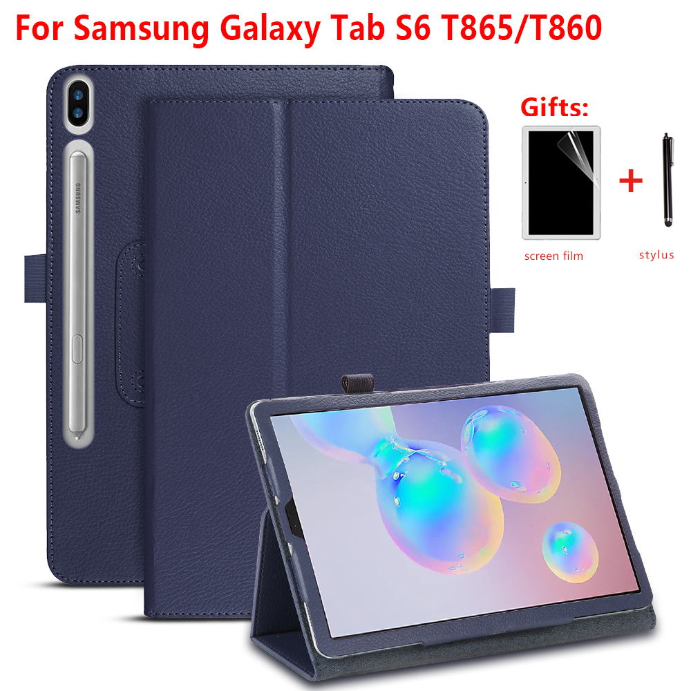 Folio Protective Cover Case For Samsung Galaxy Tab S6 10.5\