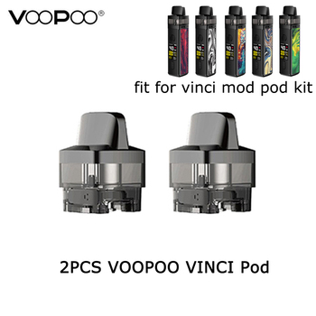 2 sztuk paczka VOOPOO VINCI Pod 5 5ml wkład E papieros cewka zastępcza Pod na VOOPOO VINCI Mod Pod zestaw i VINCI R zestaw z modem tanie i dobre opinie Wymienne Z tworzywa sztucznego VOOPOO VINCI Mod Pod Kit