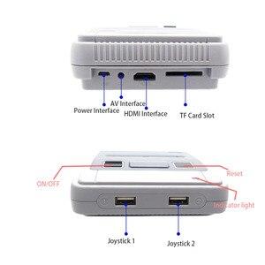 Image 4 - 4K 64bit HD dla Arcade Mini konsola do gier TV wideo Retro wbudowana 1600 Plus gry przenośna konsola do gier zapisz postęp gry prezent
