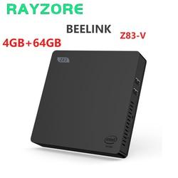 Beelink Мини ПК Z83-V Intel Atom X5-Z8350 Windows 10 2GB 4GB RAM 32GB 64GB ROM игровой ПК 2,4G 5G WiFi 1000M Мини компьютер Z83V