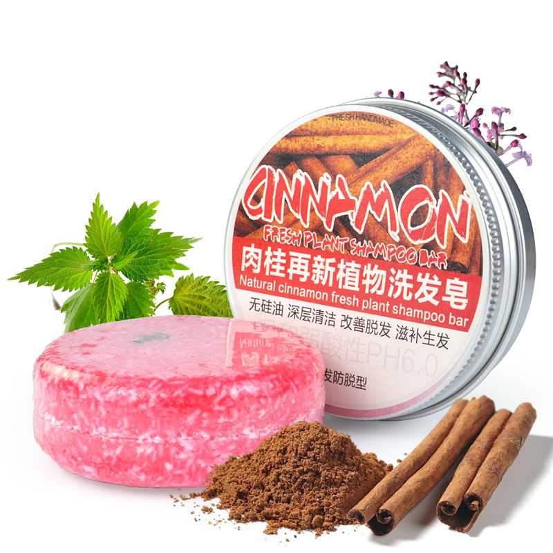 12 Color Hair Shampoo Soap Handmade Shampoo 100% Natural Organic Conditioner Cinnamon Ginger Shampoo Soap Repair Hair Care
