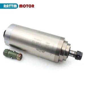 Image 2 - 3KW 水冷スピンドルモータ ER20 & 3kw インバータ VFD 220V & 100 ミリメートルクランプ & 75 ワット水ポンプ & パイプ 1 セット ER20 コレット cnc キット