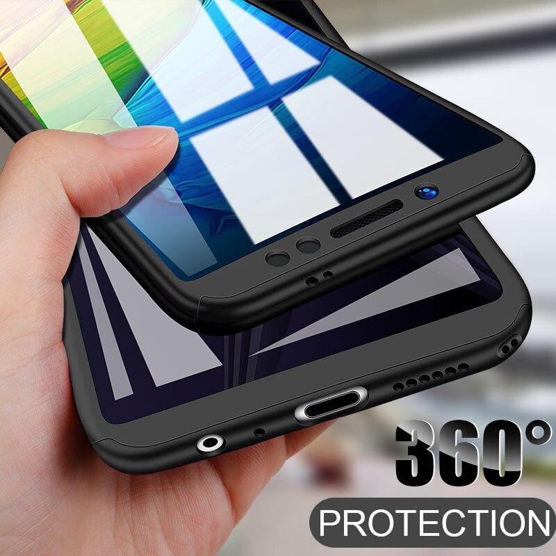 360 Full Body Protective Case For Redmi 8 Note 8T 7 6 5 Pro 7A 6A Cases For Xiaomi Mi Note 10 Pro 9 SE 9T CC9 CC9E Phone Casing