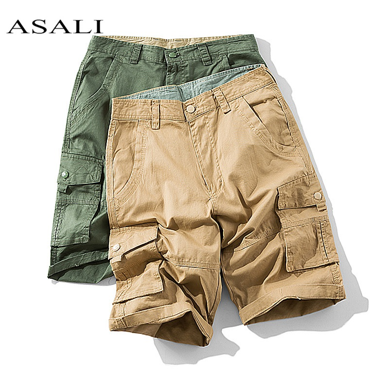 2020 Mens Military Cargo Shorts Army Camouflage Brand New Army Tactical Shorts Men Cotton Loose Work Casual Short Pants