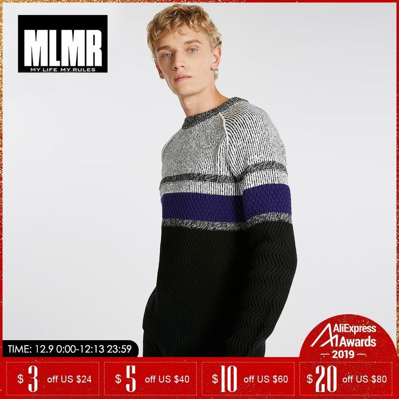 Jack Jones Winter Color Stripe Turtleneck Sweater 218425506