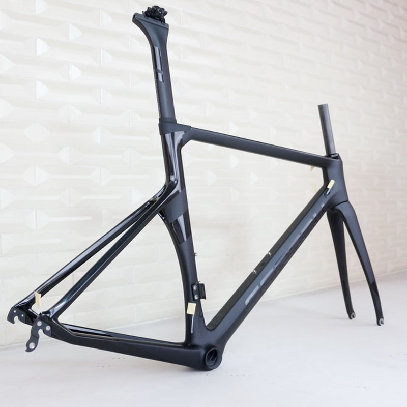 Seraph Hight Modulus Toray T800 Carbon Fiber Aero Road  Bike Frame TT-X1