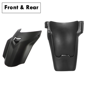 Image 5 - For BMW r1200gs lc r1250gs adv Rear Front Fender Mudguard Adventure Fender Forward Splash Guard For R 1200 GS Motorcycles Parts