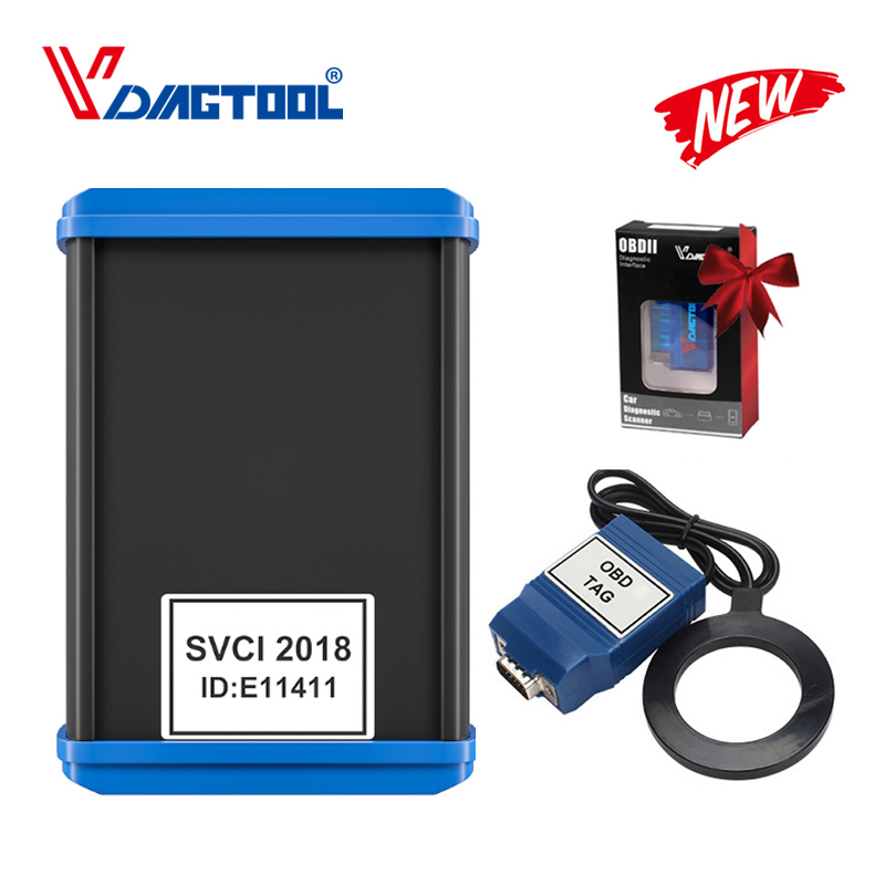 Car Styling FVDI 2018 ABRITES Commander Scanner With 18 Software Diagnostic Tool 2015 2014 Version SVCI