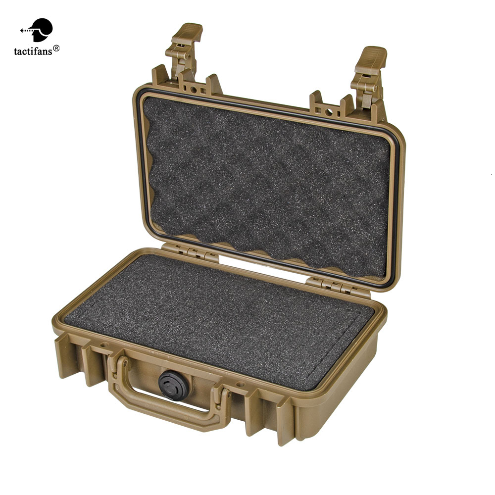 Portable Waterproof Resistant Hard Carry Bag Tool Kits Storage Box Safety Protector Organizer Paintball Gun Case Accessories
