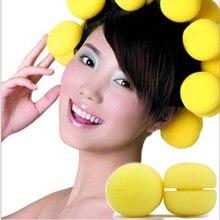 Rollers Sponge Hair-Curler Hair-Styling-Tools Soft-Ball Foam 6pcs