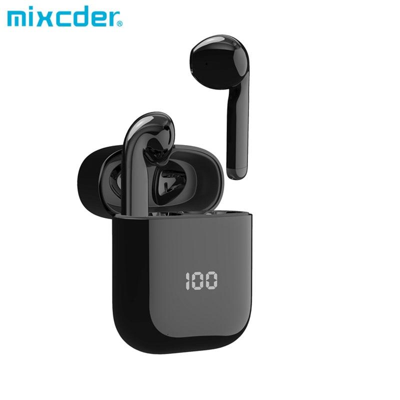 Mixcder X1 наушники-вкладыши TWS Bluetooth Беспроводной наушники с 4 микрофон BT5.1 Шум отмены наушники спортивные наушники 24Hrs непрерывной работы