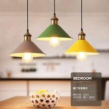 Pendant Lights Modern Bar Cafe Loft Restaurant Bedroom Hanging Lamp Large Shopping E27 AC 85-265V Art Nordic Pendant Light Lamps цена