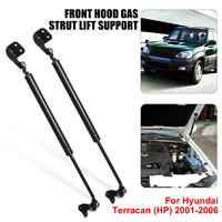 2X Front Engine Cover Bonnet Hood Shock Lift Struts Bar Support Arm Gas Hydraulic Spring For HYUNDAI TERRACAN (HP) 2001 2006
