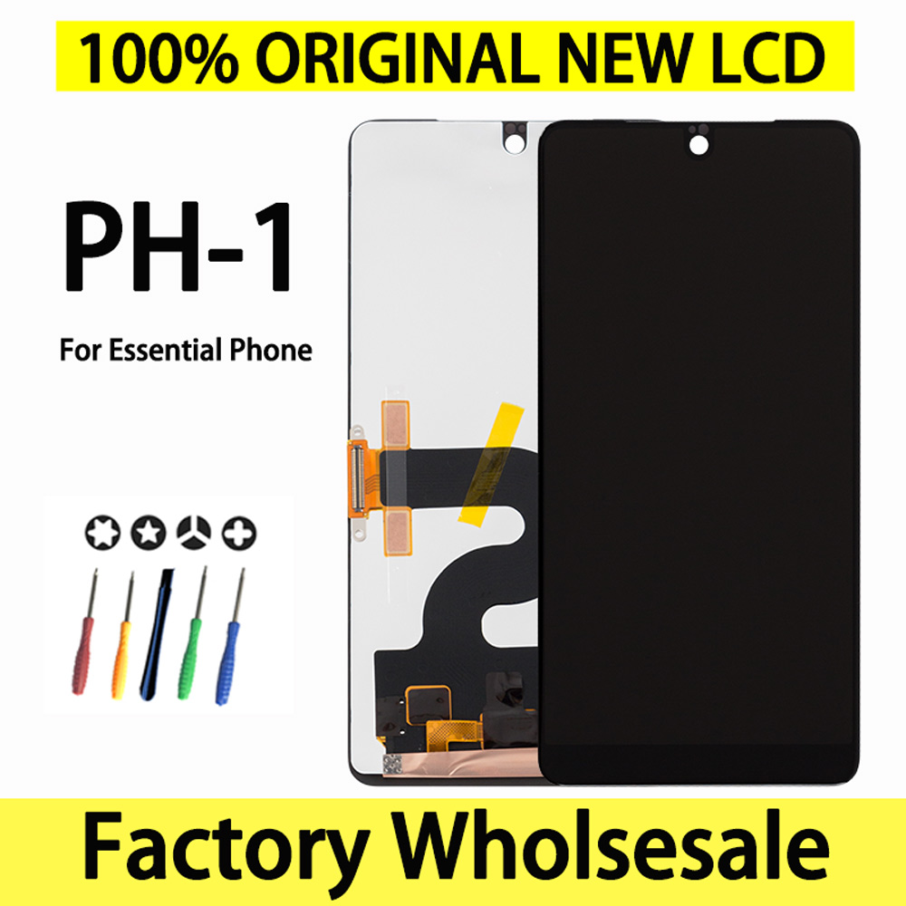 Original New Lcd For Essential Phone PH-1 PH1 Display Screen Factory Wholesale Display For Essential Phone Ph-1 Screen(China)