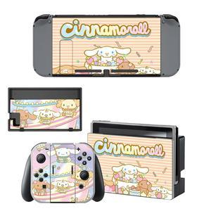 Image 4 - Autocollant dautocollants de commutateur de peau de commutateur de Nintendoswitch de cannelle pour des autocollants de peaux de Dock de contrôleur de Joy con de Console de commutateur de Nintendo